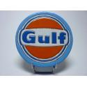 Logo Gulf lave émaillée
