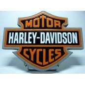 Logo Harley Davidson lave émaillée