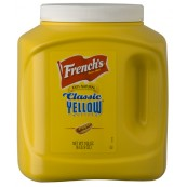 French's Yellow Mustard Big size - Moutarde French's classique 3L
