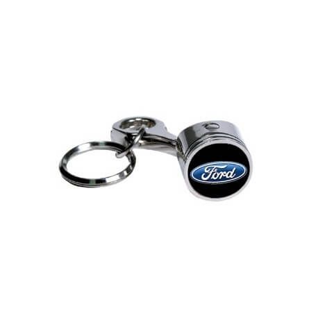 Porte clef  piston Ford USA - Piston keychain Ford