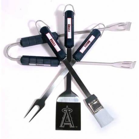 """Kit BBQ NFL Anaheim Angels - """"MLB BBQ Angels Set"""""""