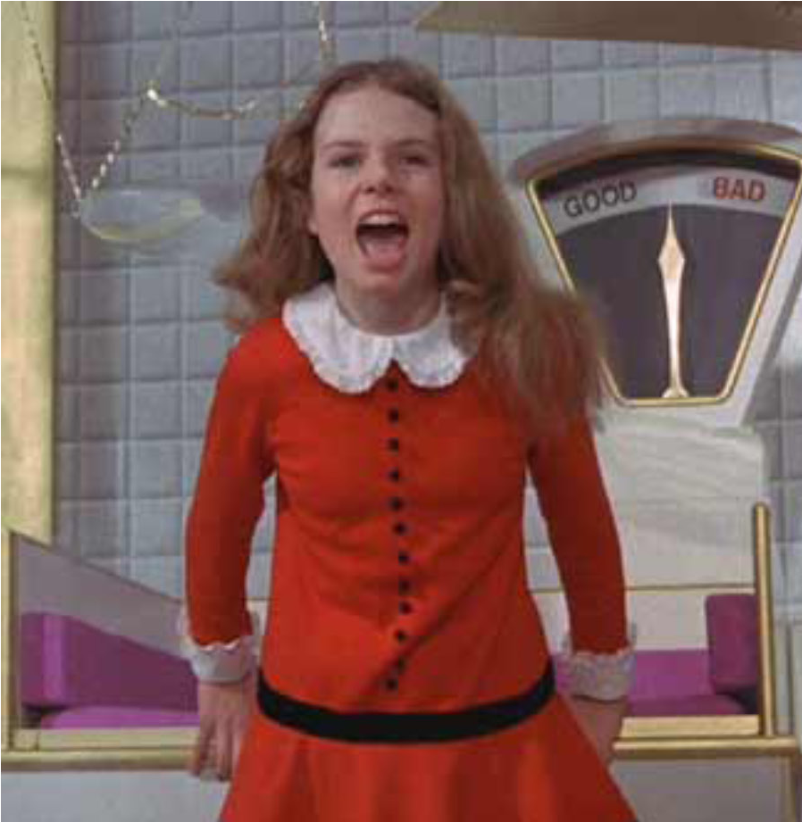 Veruca salt portrait