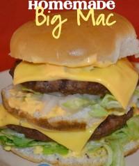 La recette du Hamburger Big Mac maison